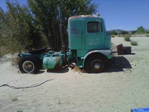 Bangshift Com What Would You Do With This 1961 Mack Cabover Truck