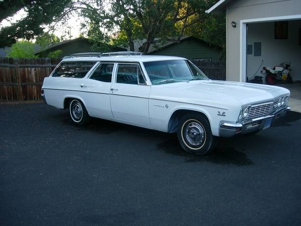 BangShiftcom This Original SS396 Impala Wagon Rules Is For Sale