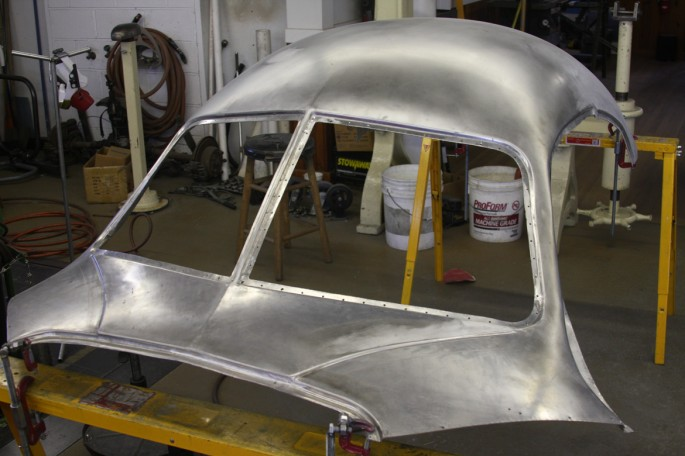 VW Type 64 KDF 1939 Copacetic Metal Shaping Dave Miller003