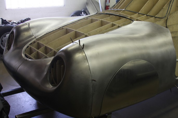 VW Type 64 KDF 1939 Copacetic Metal Shaping Dave Miller007