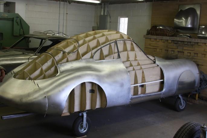 VW Type 64 KDF 1939 Copacetic Metal Shaping Dave Miller015