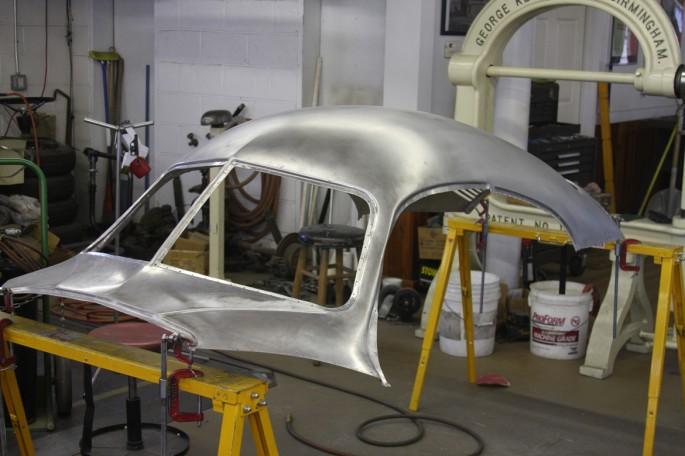 VW Type 64 KDF 1939 Copacetic Metal Shaping Dave Miller019