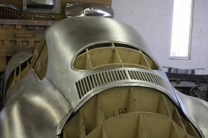 VW Type 64 KDF 1939 Copacetic Metal Shaping Dave Miller027