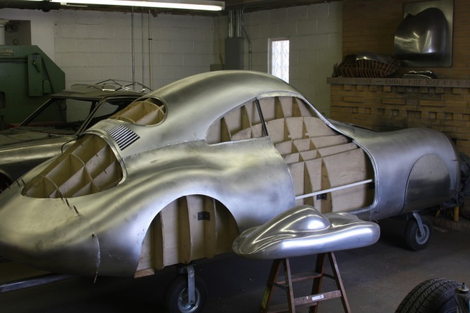 VW Type 64 KDF 1939 Copacetic Metal Shaping Dave Miller029