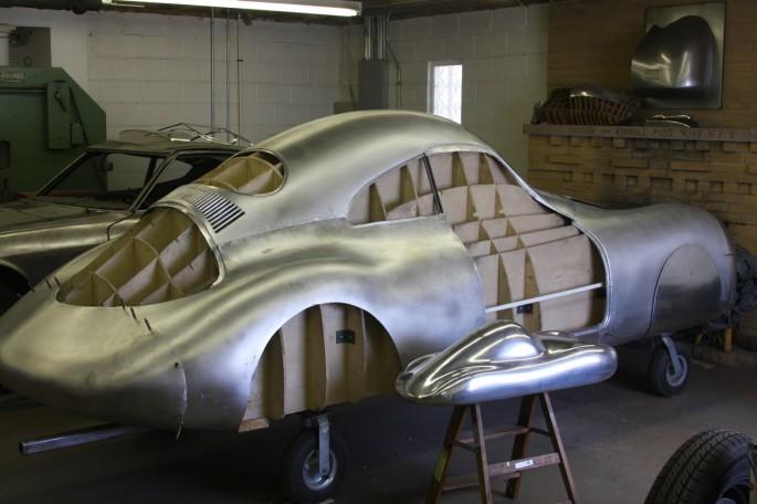VW Type 64 KDF 1939 Copacetic Metal Shaping Dave Miller030