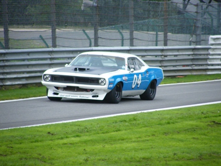 Watch this Hemi 'Cuda Tear Around The Nurburgring Nordschliefe From Inside The Car!