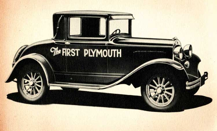 Friday Fact: The Plymouth Car Company Was Named After A Brand Of Twine