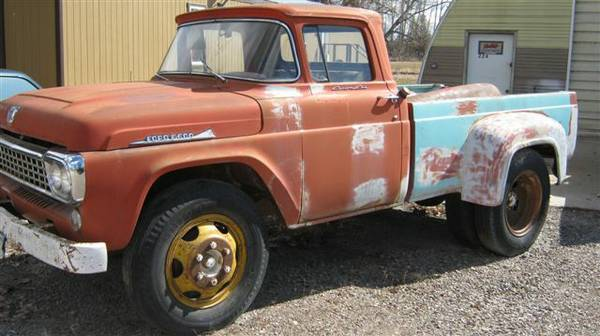 Old Ford Trucks For Sale Cheap >> BangShift.com 1958 Ford