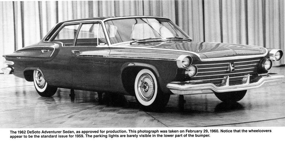 Check These Out: Rare Photos Of A 1962 DeSoto Mockup!