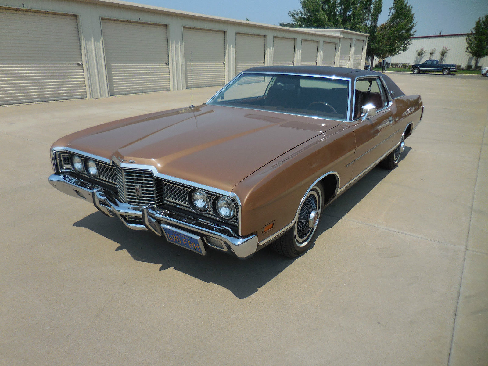 Ebay find this 1972 ford ltd is pure seventies perfection