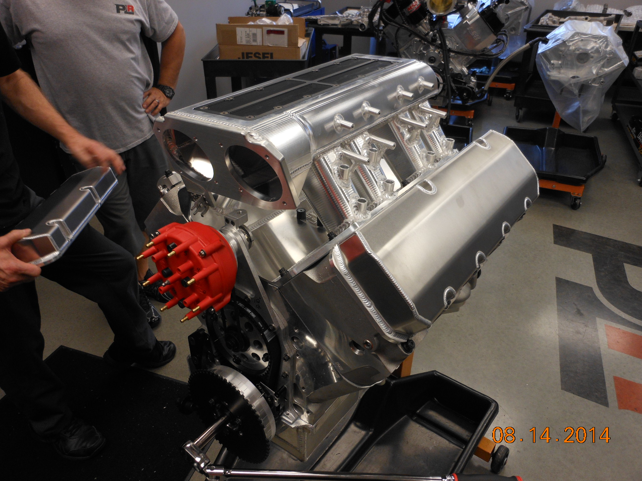 What's It Take To Run 6.16 In A Street Truck? Look Inside The ProLine Racing Engine That Propelled Larson On Drag Week 2014