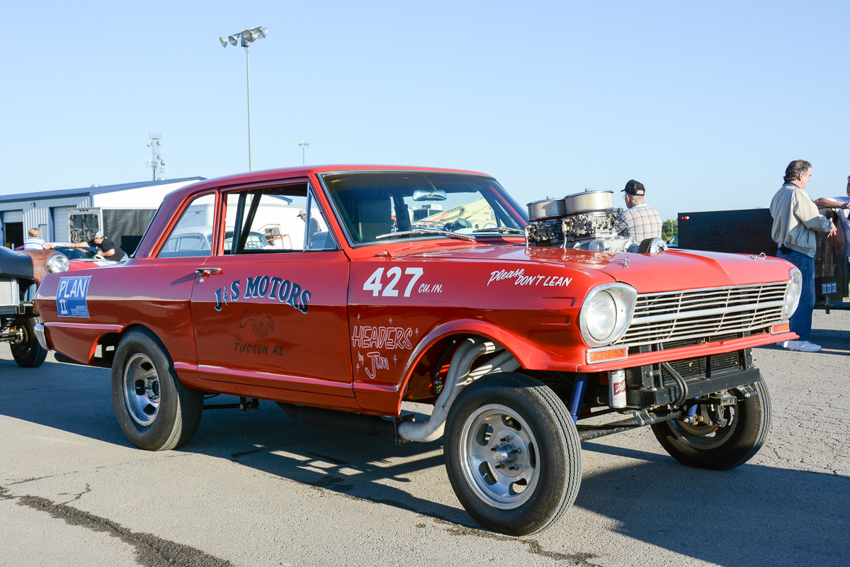Drag Week 2014: Justin Oney's Photo Diary – Day One Registration At Osage Casino Tulsa Raceway Park
