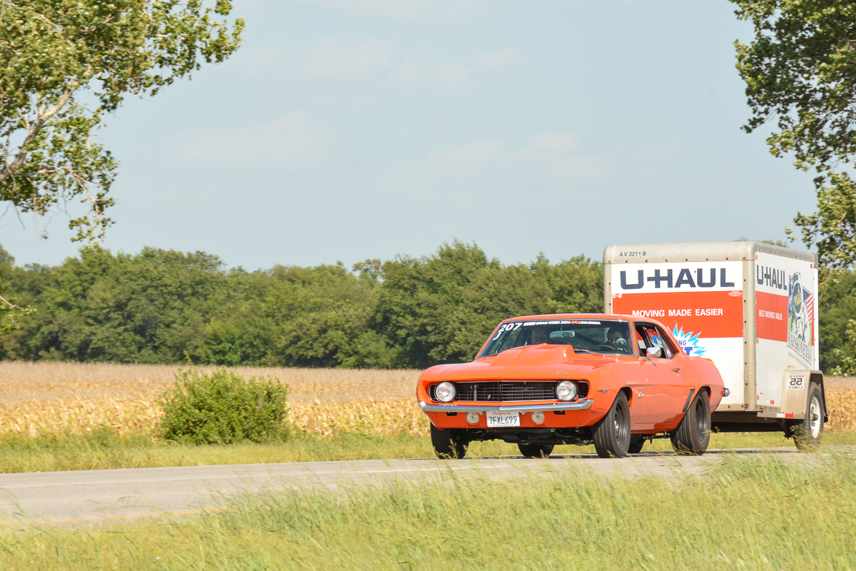 Drag Week 2014: Justin Oney's Photo Diary – Day Two Topeka, Kansas On The Strip And On The Roads