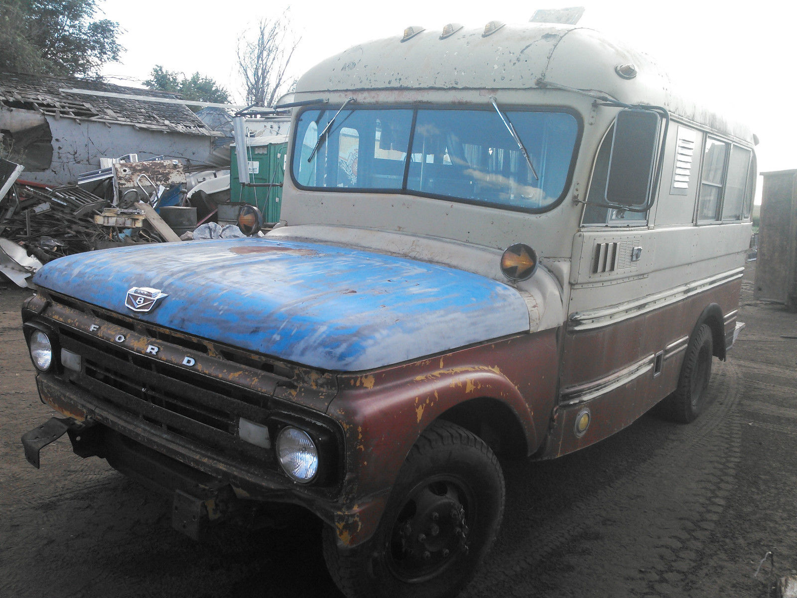 BangShift com OMG!!! This 1962 Ford Short Bus Could Be The