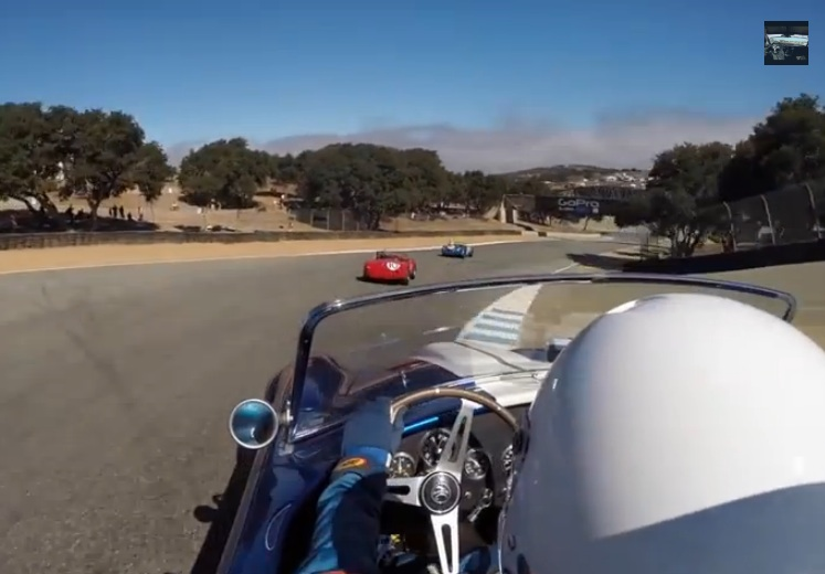 Ride In The Cockpit Of The 10th Shelby Cobra Ever Built As It Rips, Roars, And Screams Around Laguna Seca Mazda Raceway