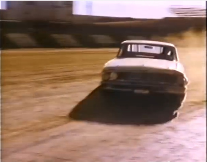Watch (And Hear!) Junior Johnson Rip Around The Famed Ascot Park Dirt Track In California In His 427 Powered Galaxie Back In '64/65