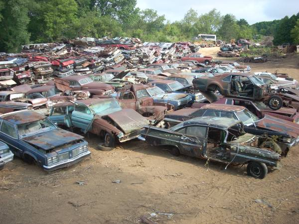 Classic Cars Salvage Yards In Wisconsin