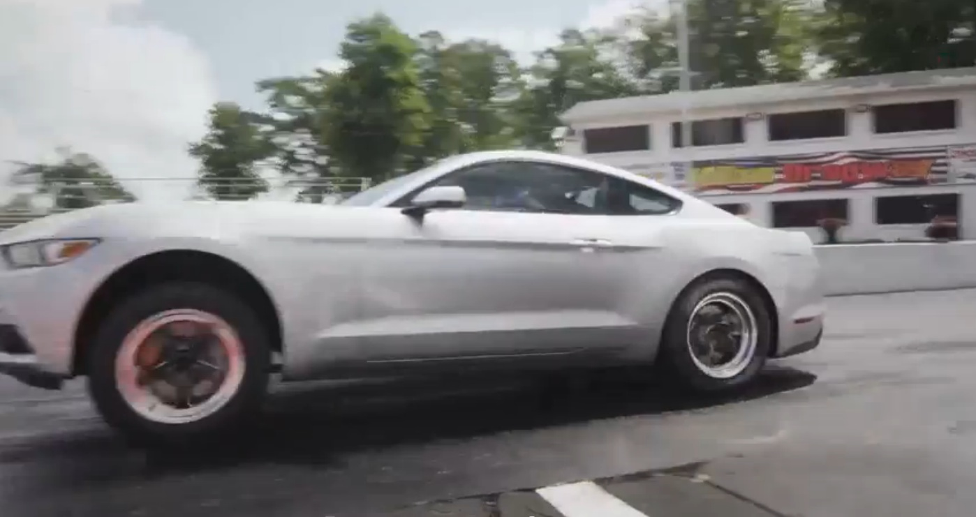 This Ford Racing Mustang XX.99 Challenge Video Is Pretty Awesome – The 2015 Mustangs Are Strong On The Strip