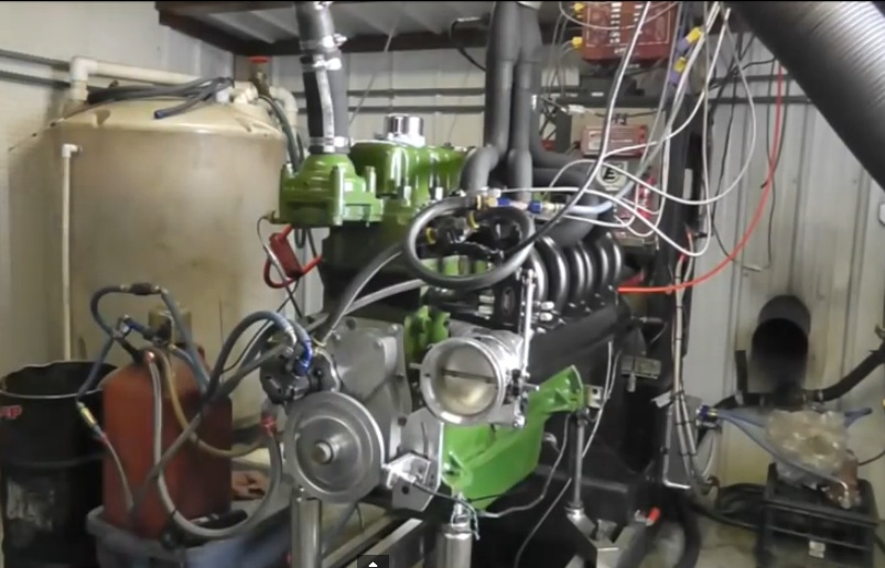 Video – Hot Rodded Oliver Inline Six Tractor Engine Make 405hp And 560+ lb/ft On The Dyno Naturally Aspirated!