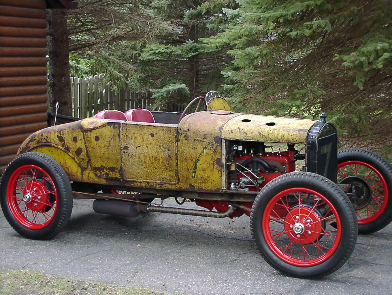 1927 ford model t racer for Dirt track garage