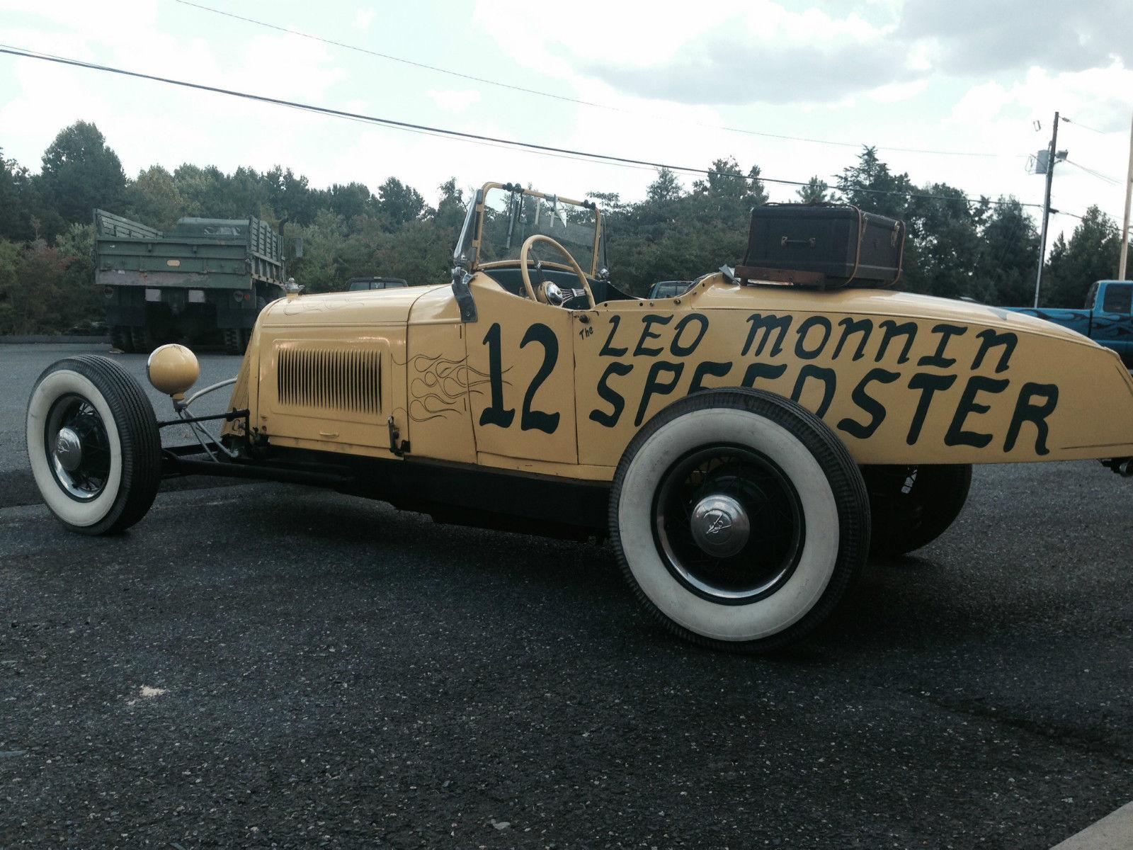 BangShift.com 1927 Leo Monnin Speedster
