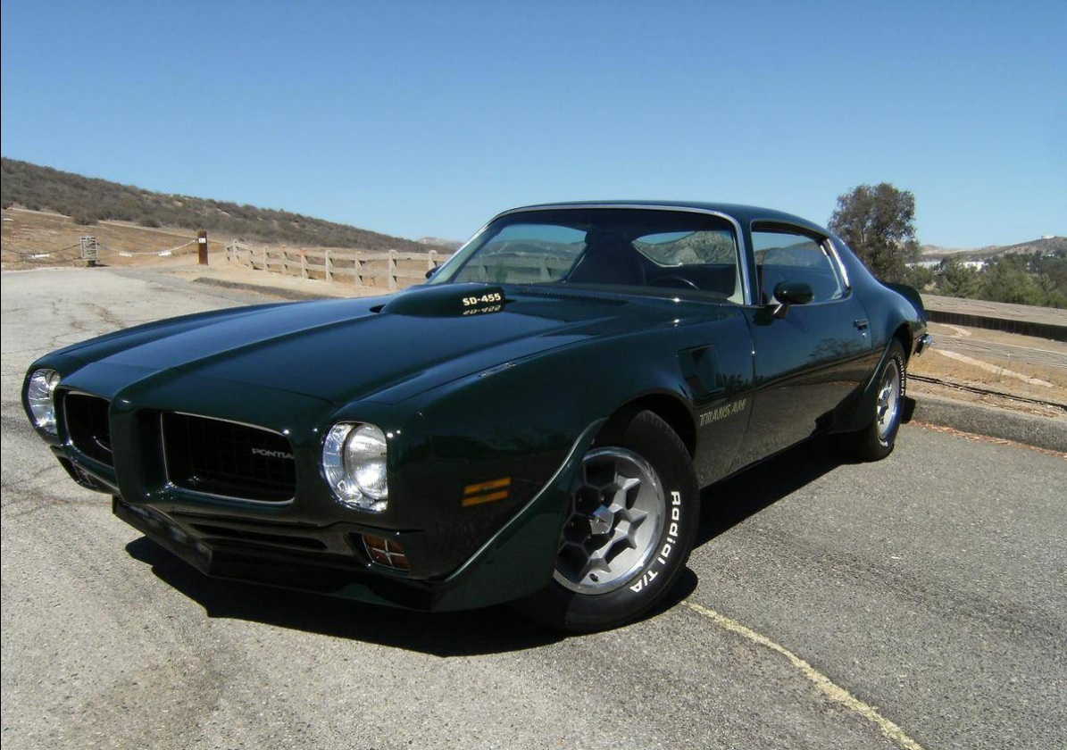 1973 Pontiac Trans Am Sd455 Click Here To See The Ad For This Incredible