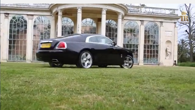 Tax The Rich Has Returned With A Rolls-Royce Wraith