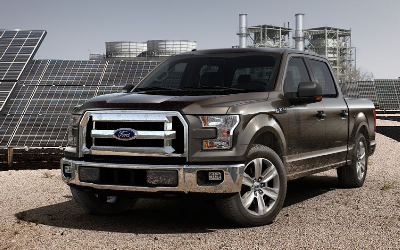 Just How Light Is The New Aluminum F-150? Let's Take A Look…