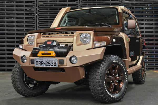 Ford T4 Troller >> BangShift.com The Ford Troller T4: A Diesel-Powered Small 4x4 That Shows How A Small Off-Roader ...
