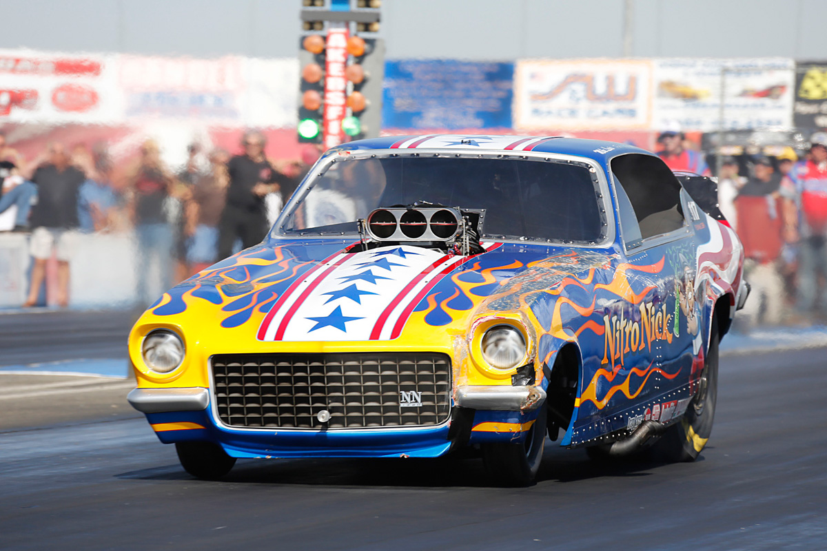 2014 California Hot Rod Reunion: More Funny Car Photos From Famoso Raceway – Nothing But Flops!