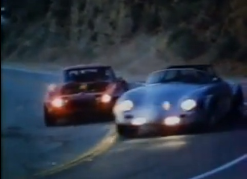 "Retro Clip: The Final Race Scene From ""King Of The Mountain""…Porsche Versus Corvette On Mulholland Drive"
