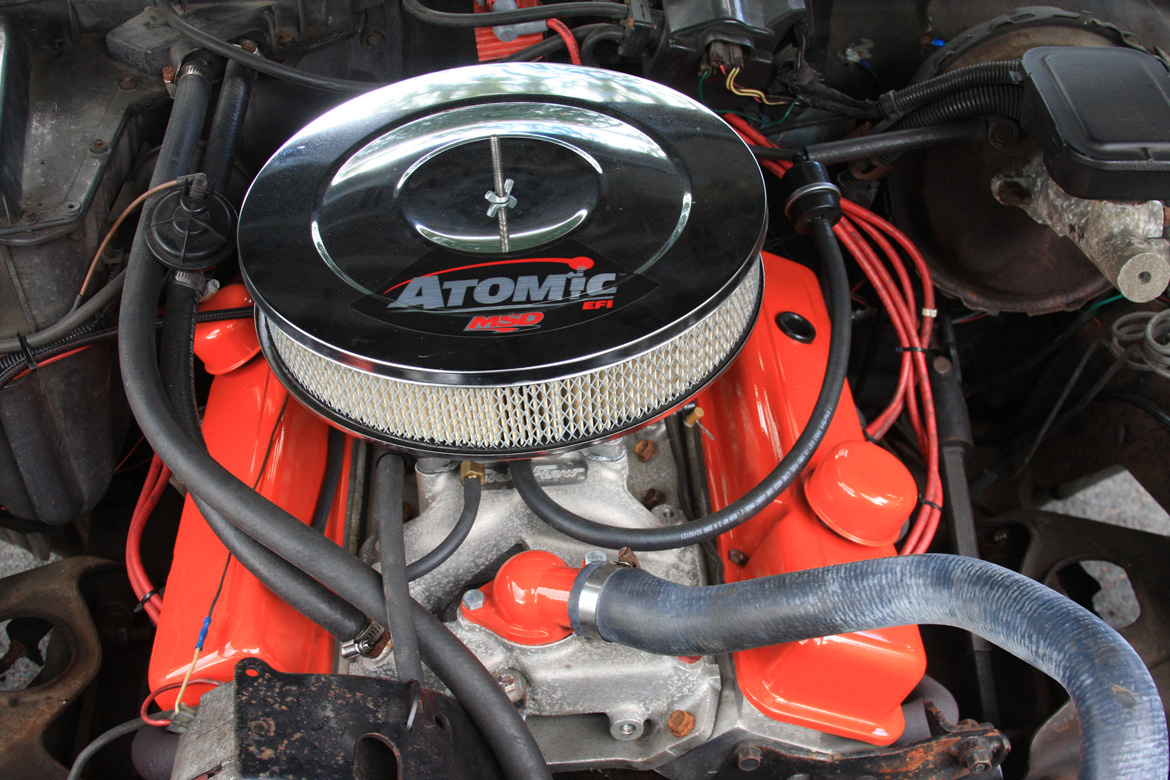 The Atomic EFI Age: Or What Project Buford T Justice Did On His Summer Vacation – Driveway EFI Install