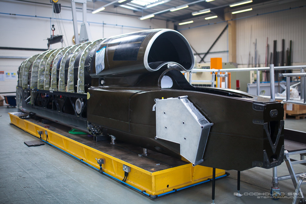Turbine Engine Fitted To Bloodhound SSC – Quest For 1,000 MPH On Land Continues On Schedule
