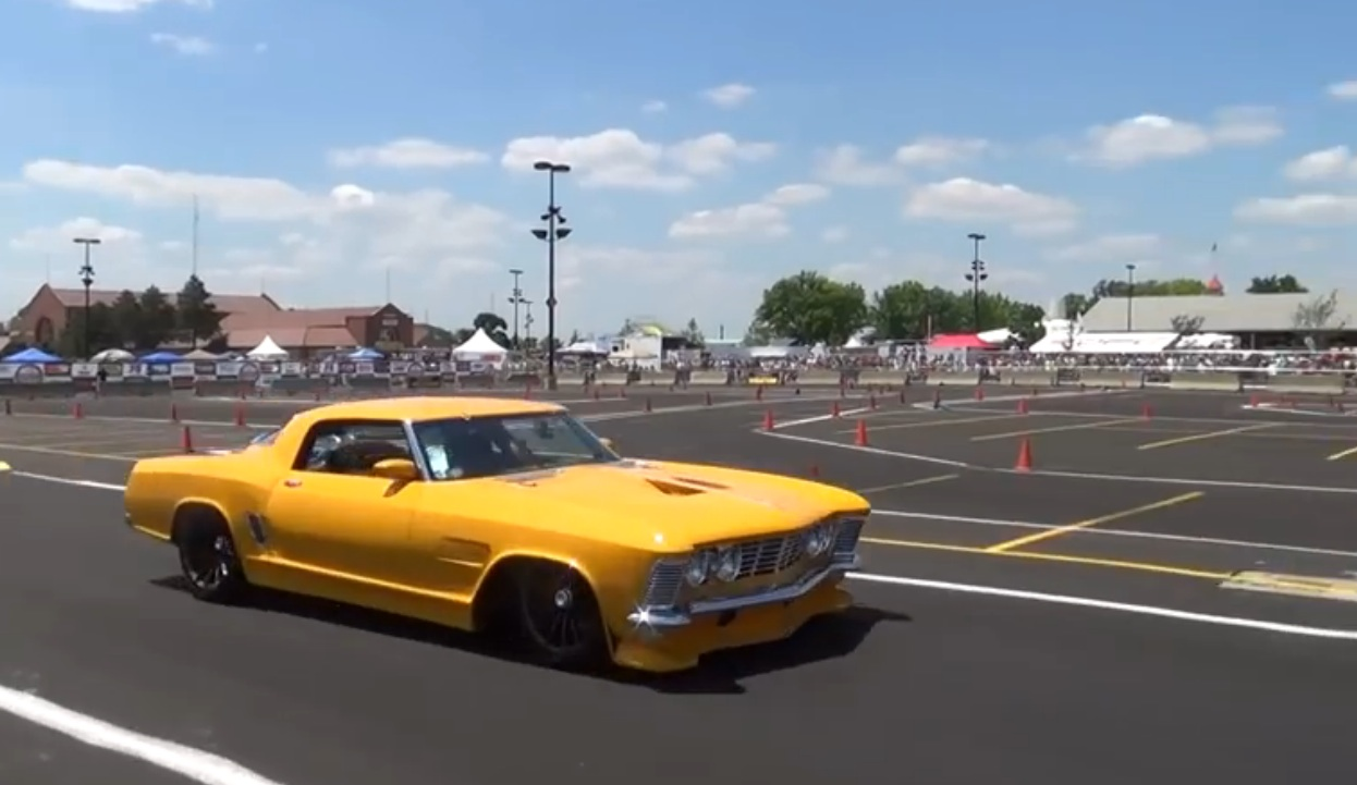 Watch The 2014 Ridler Winning Revision Buick Hit The Goodguys Autocross – Sideways Action From The Wild Creation