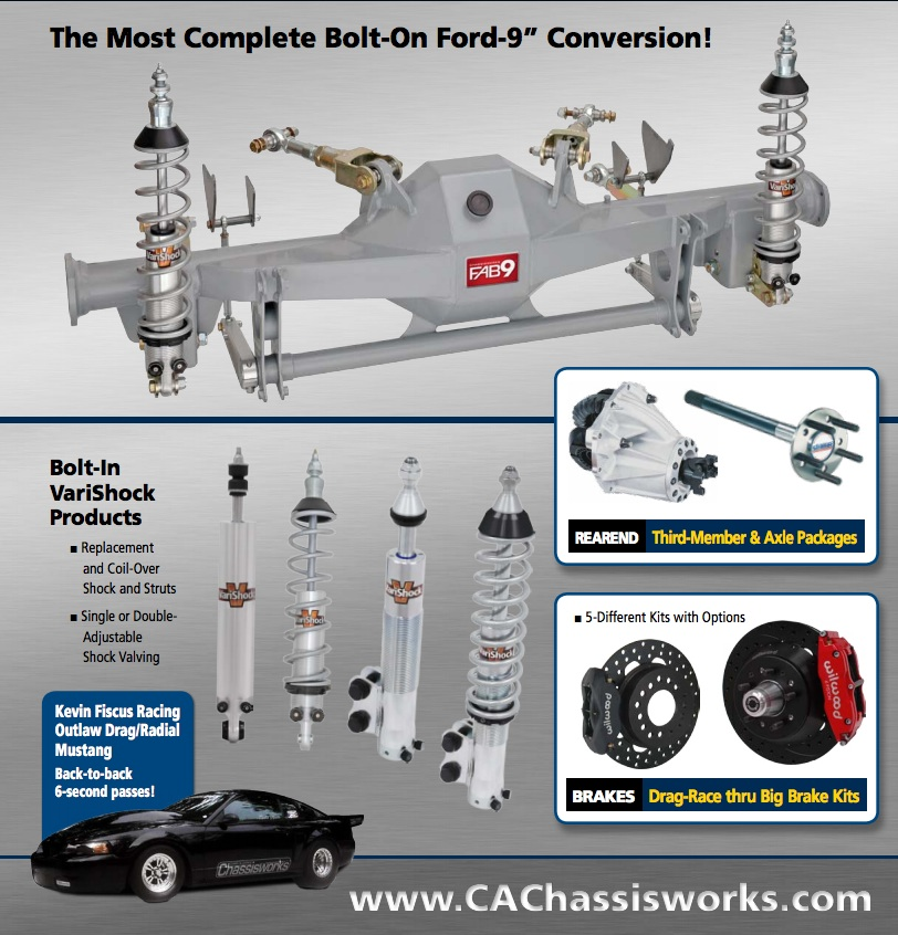 Building A 1979-2004 Mustang? Look At Chris Alston's Chassisworks For All Your Suspension Needs – Crazy Options