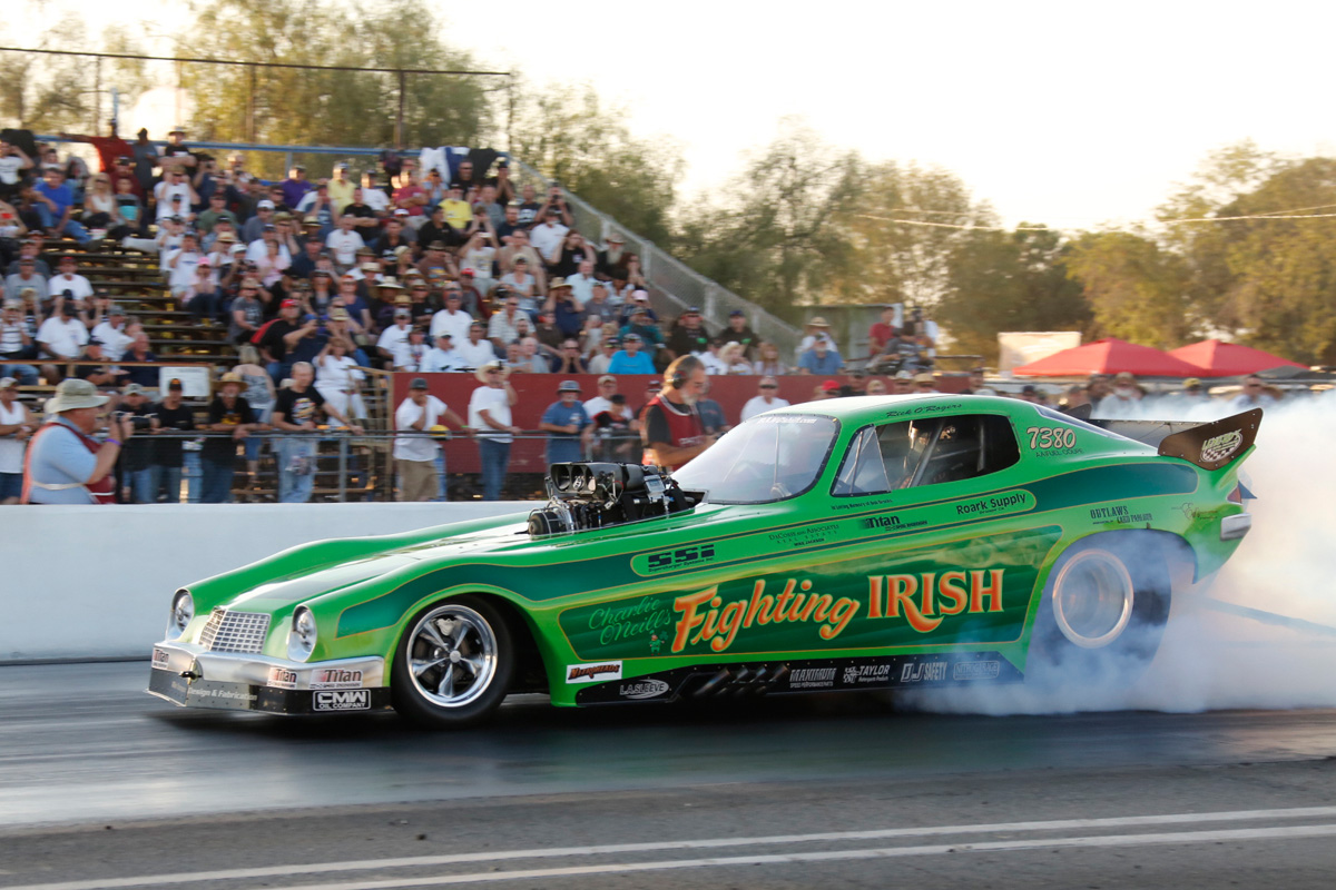 Funny Car Action At The 2014 California Hot Rod Reunion – Fiberglass Forest At Famoso!