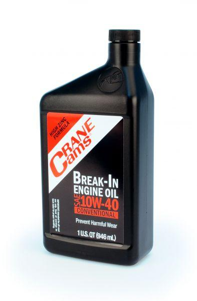 Crane Cams Now Offers 10W-40 Non-Synthetic Break-In Oil For Flat Tappet Cams – Don't Break In Without It