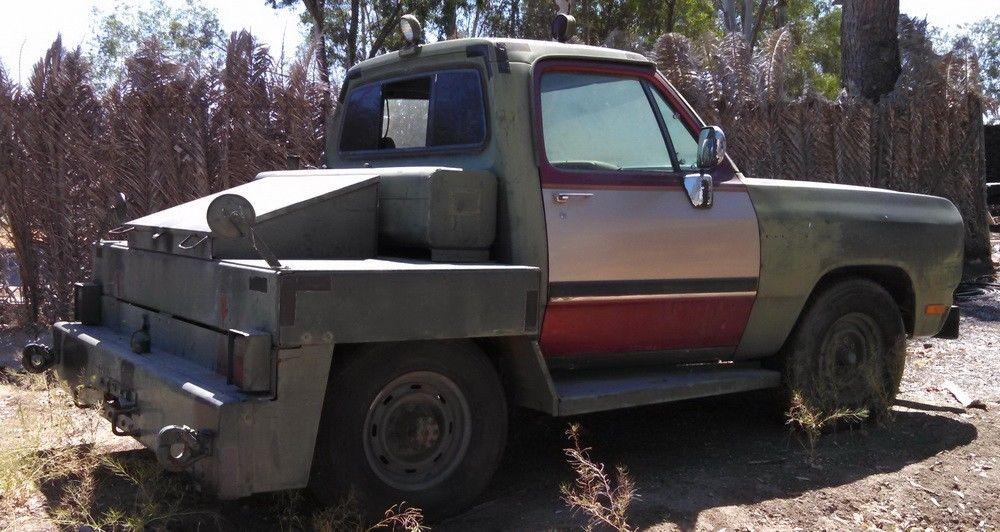 Bangshift Com 1990 Dodge Aircraft Tractor