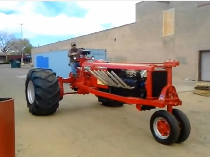 This GMC V12 Powered Farmall Tractor Looks Killer, Sounds Mean