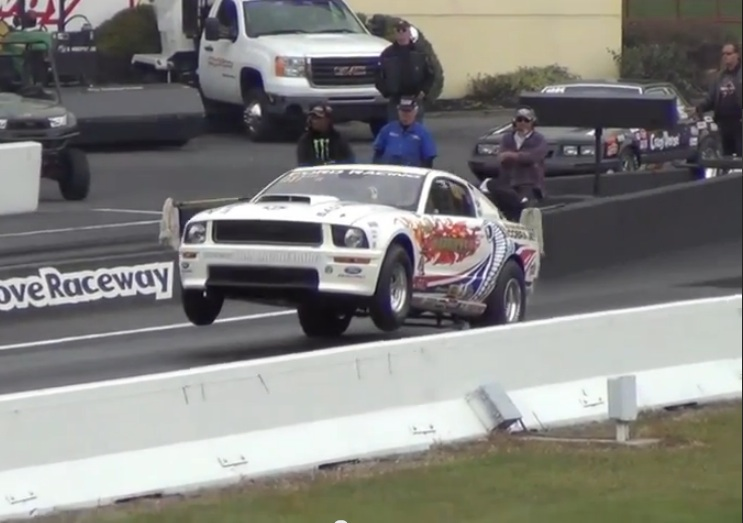 Watch Don Fezell Make The Quickest Stock Eliminator Pass In History 8.50!