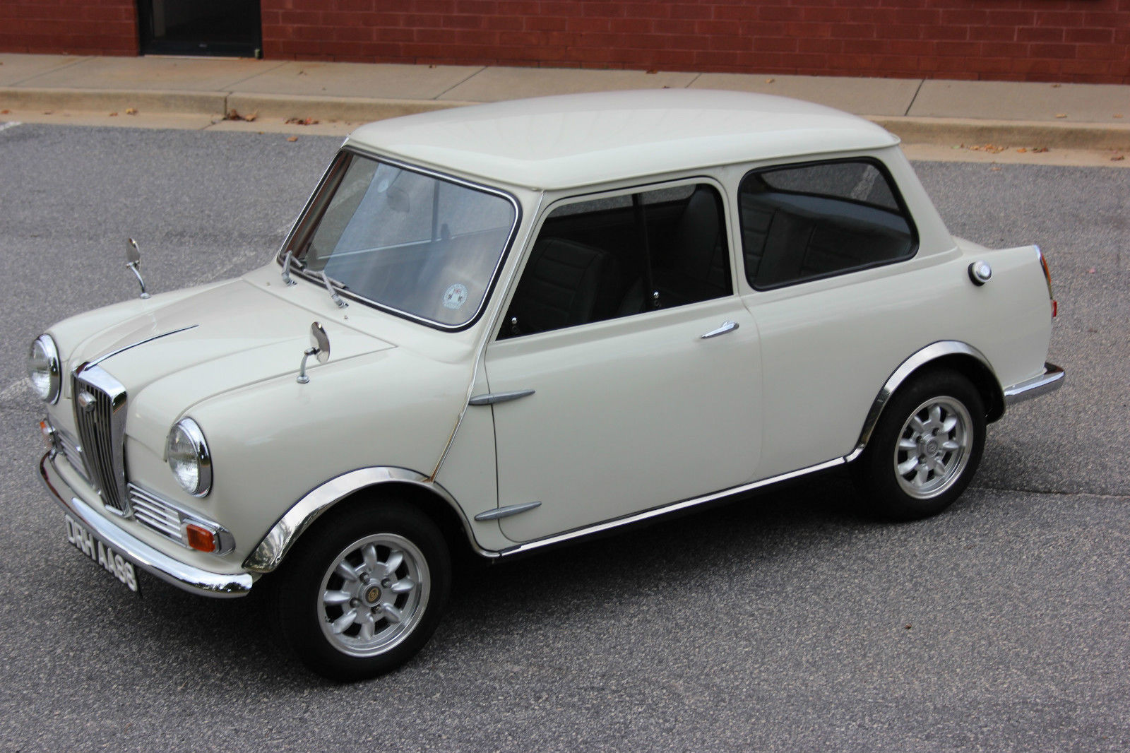 This 1966 Wolseley Hornet MKII Is A Factory Spruced Up Mini And We Think It Needs To Be Hot Rodded