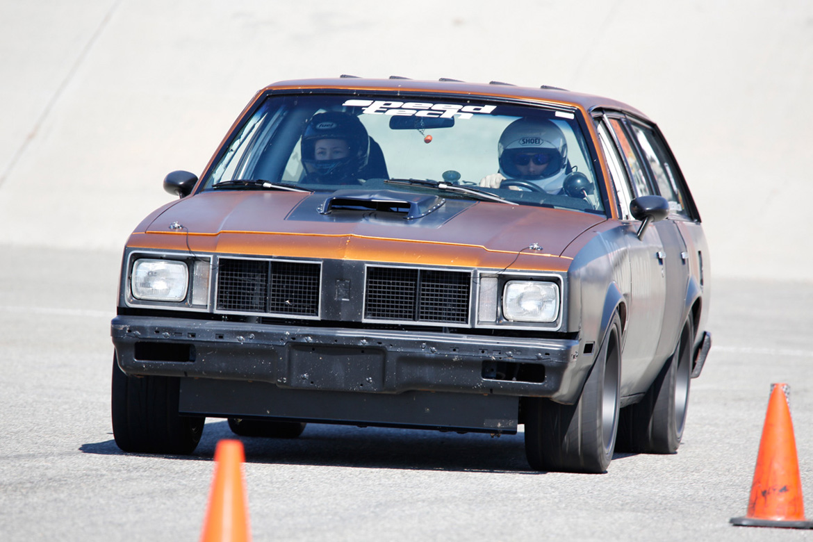 Hotchkis Autocross Action From NMCA West At Fontana – Muscle Cars of All Shapes And Sizes Attack The Cones