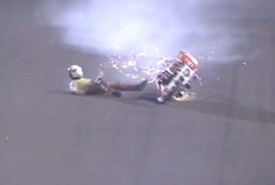Watch The Crazy Top Fuel Motorcycle Final From The 1995 Australian Nationals – Big Numbers, Crashing Bikes, Everyone OK