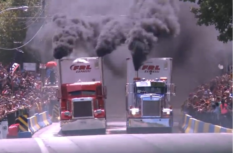 Watch The Planet's Two Meanest Big Rigs Clash Both Loaded And Unloaded – Couture VS Noel On The Streets Of Canada