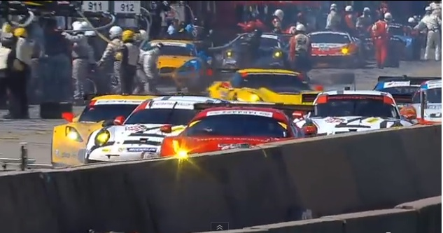 Crash Video: The Pit Lane Incident At The 2014 Petit Le Mans At Road Atlanta