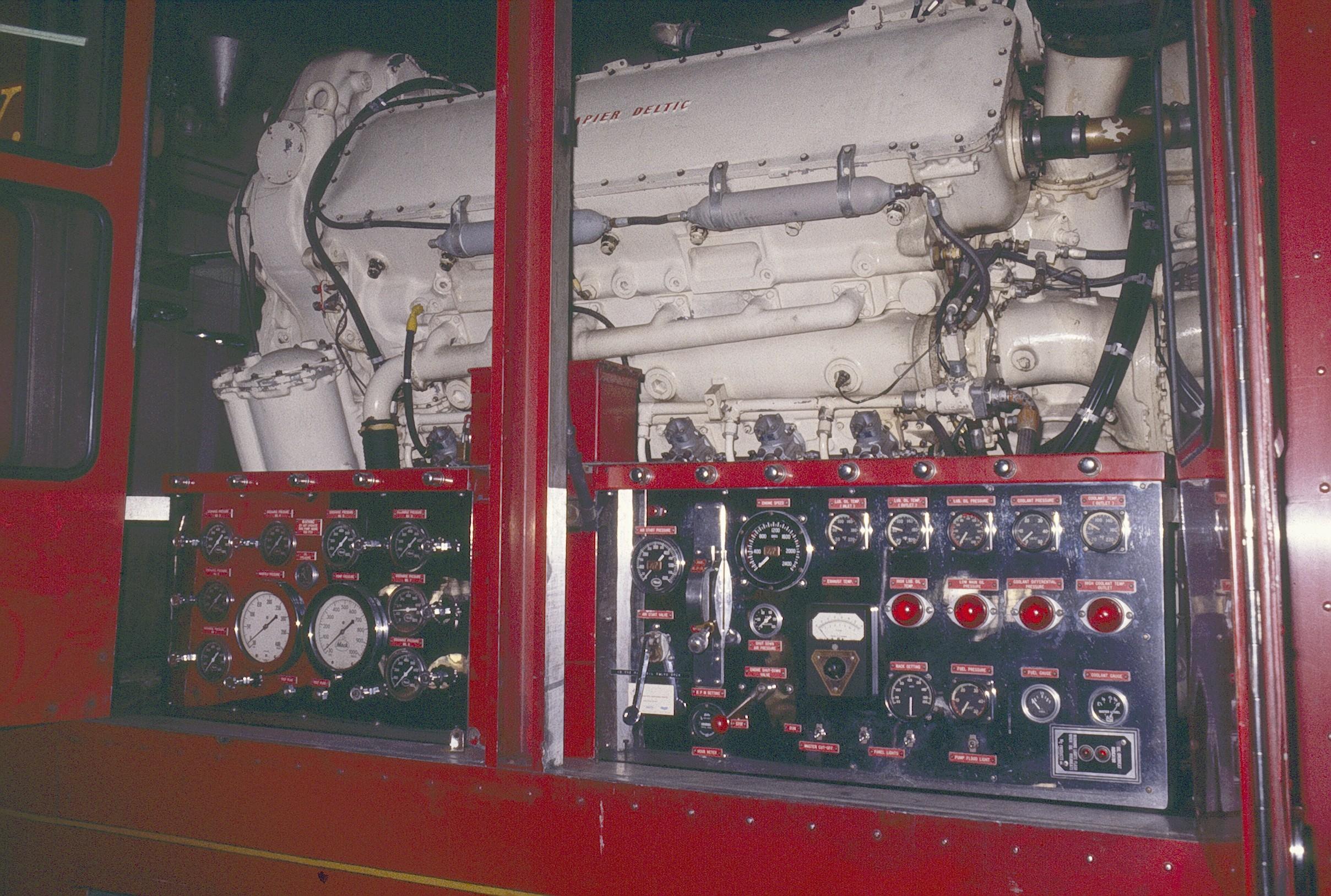 Mack Super Pumper Fire Engine Pump Panel Diagram Superpumper6