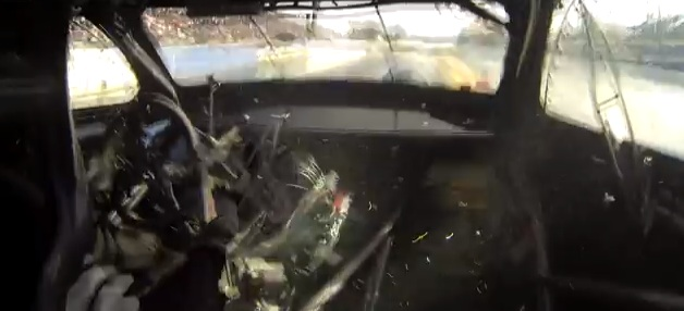 Racing Carnage: Watch As This Mitsubishi Eclipse's Transmission Explodes During A Run