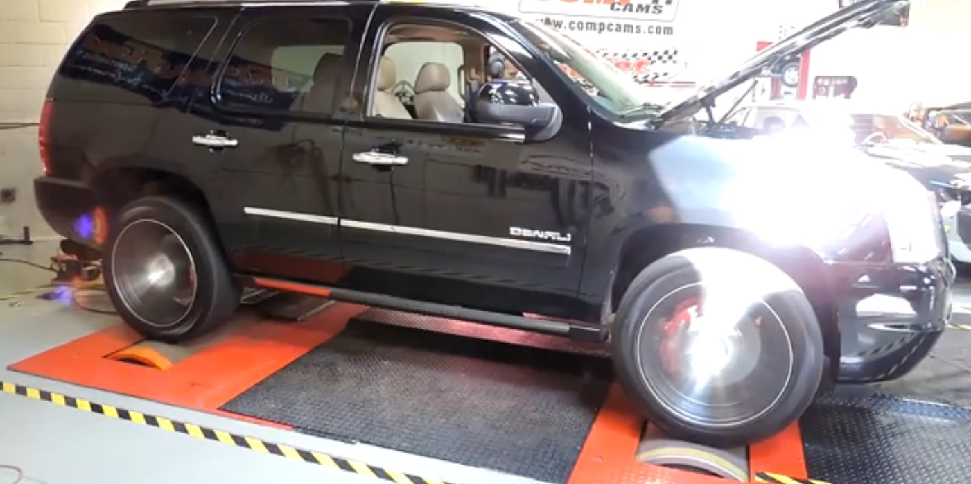 SUV Of Doom: Watch This Denali Spin Both Rollers On An AWD Dyno To The Tune Of 775HP To The Tires!
