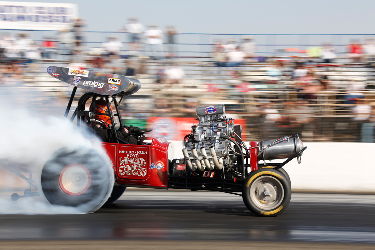 2014 California Hot Rod Reunion: Awful, Awful Altereds – Fuel, Alky, and Gas Burners All Here