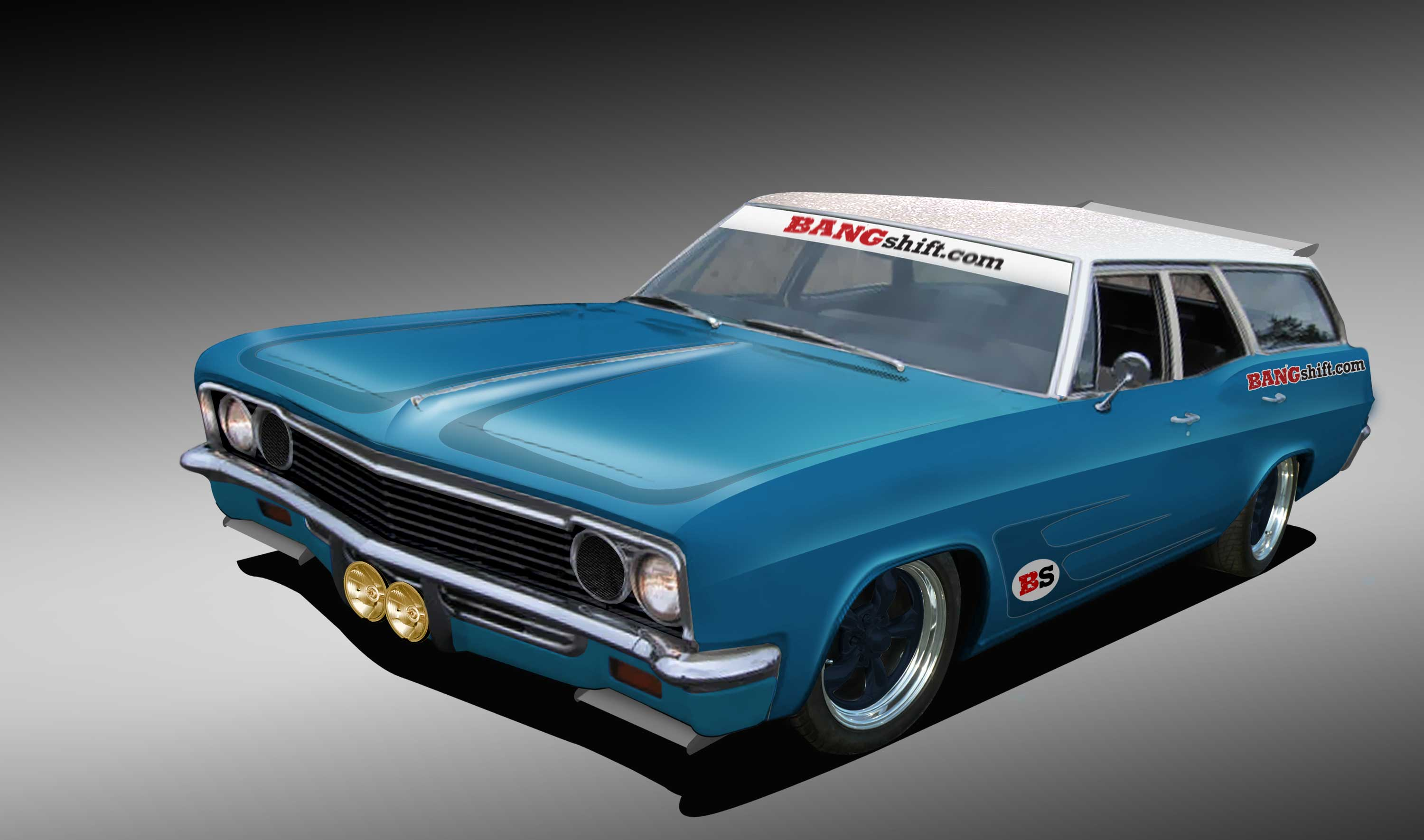 Introducing Wickeds Wagon Bangshifts Bmw Slaying 1966 Chevrolet Bel Air Conv Hot Rod Project